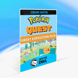Pokemon Quest - Expedition Pack Switch (EU) - Nintendo Switch Código 16 Dígitos