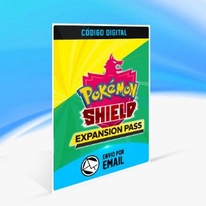 Pokémon Shield Expansion Pass - Nintendo Switch Código 16 Dígitos
