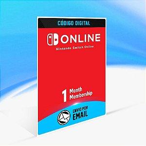 Assinatura individual de 1 mês (30 dias) - Nintendo Switch Código 16 Dígitos