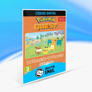 Pokemon Quest - Whack-Whack Stone Switch (EU) - Nintendo Switch Código 16 Dígitos
