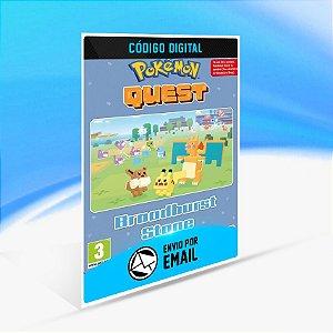 Pokemon Quest - Broadburst Stone Switch (EU)  - Nintendo Switch Código 16 Dígitos