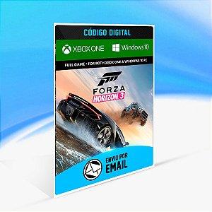 FORZA HORIZON 3 - Xbox One Código 25 Dígitos