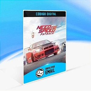 Need for Speed Payback - Xbox One - Código 25 Dígitos