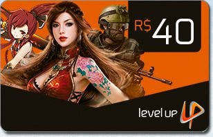 CARTÃO LEVEL UP R$40