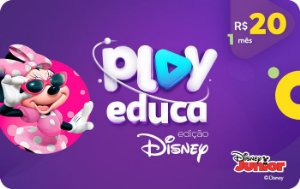 Play Educa Edição Disney Assinatura 1 mês