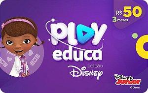 Play Educa Edição Disney Assinatura 3 meses