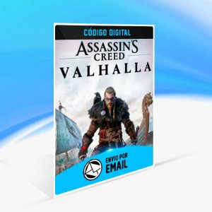 Assassin's Creed Valhalla - Xbox One Código 25 Dígitos