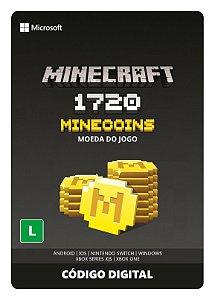 Minecraft: Pacote de Minecoins: 1720 Moedas