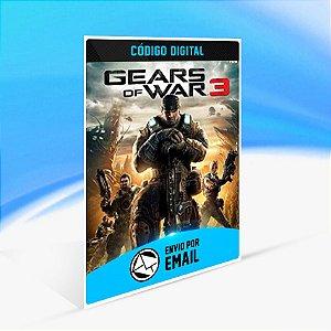 Gears of War 3 - Xbox One Código 25 Dígitos