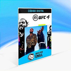 UFC 4 - Xbox One Código 25 Dígitos