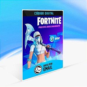 Fortnite — Pacote Diva Diamante - Xbox One Código 25 Dígitos