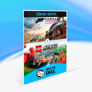 Forza Horizon 4 + LEGO Speed Champions - Xbox One Código 25 Dígitos