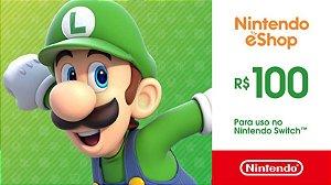Gift Card Nintendo Switch Sn Games