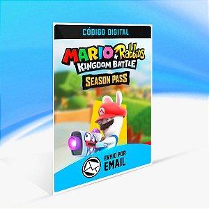 Mario + Rabbids Kingdom Battle: Season Pass - Nintendo Switch Código 16 Dígitos