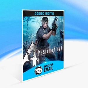 Resident Evil 4 - Nintendo Switch Código 16 Dígitos