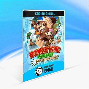 Donkey Kong Country: Tropical Freeze - Nintendo Switch Código 16 Dígitos