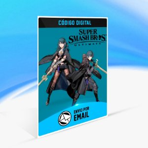 SUPER SMASH BROS. ULTIMATE: BYLETH CHALLENGER PACK 5 DLC - Nintendo Switch Código 16 Dígitos