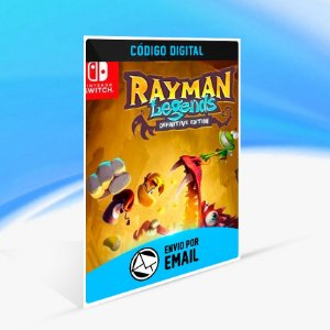 Rayman Legends Definitive Edition - Nintendo Switch Código 16 Dígitos
