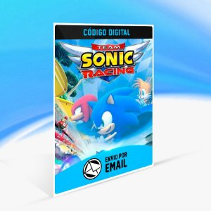 Team Sonic Racing - Nintendo Switch Código 16 Dígitos