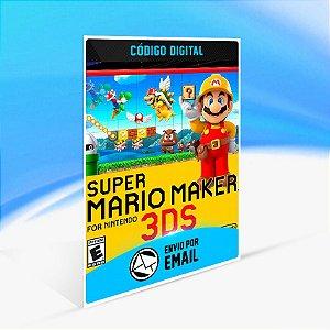 Super Mario Maker - Nintendo 3DS Código