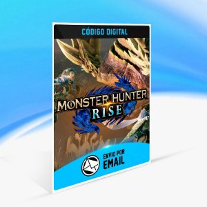MONSTER HUNTER RISE - Nintendo Switch Código 16 Dígitos