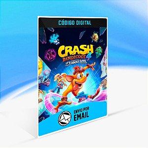 Crash Bandicoot 4: It's About Time - Nintendo Switch Código 16 Dígitos