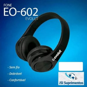 FONE BLUETOOTH ESPORTIVO EG602 EVOLUT
