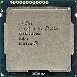 SN - PROCESSADOR 1155 INTEL PENTIUM G2030 3.0GHZ D