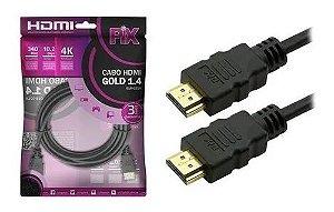 CABO HDMI 3M 1.4 - PIX 018-0314