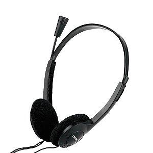 HEADSET C/ MICROFONE OFFICE HF-2213