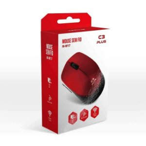 MOUSE WIRELESS M-W17RD C3T - P