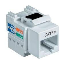 CONECTOR FEMEA KEYSTONE CAT5E - P
