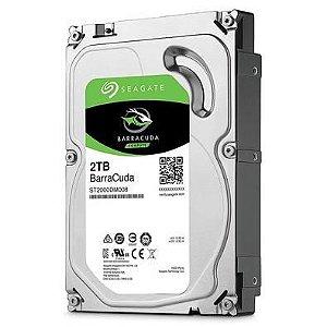 HD 2TB SATA 6GB/S BARRACUDA SEAGATE