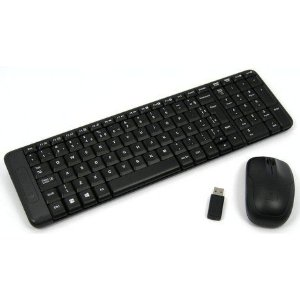 KIT TECLADO E MOUSE WIRELESS LOGITECH MK220