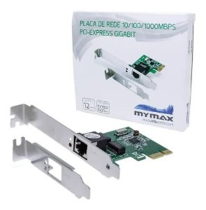 PLACA REDE PCI-E 100/1000MBPS MYMAX