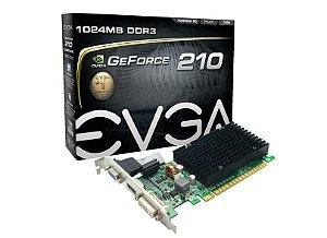 PLACA VIDEO GEFORCE 210 1GB DDR3 64BITS NVIDIA