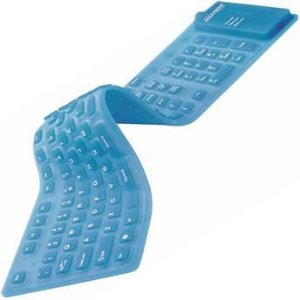 TECLADO USB SILICONE COLORS