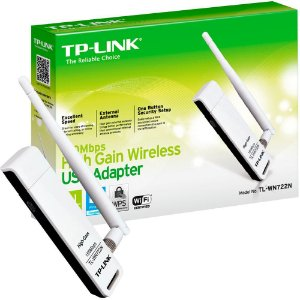 ADAPTADOR WIRELESS USB 150MBPS TL-WN722N TP-LINK