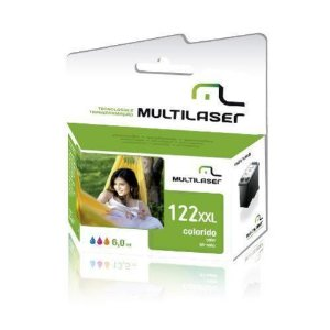CARTUCHO COMPATIVEL 122XL COLOR MULTILASER