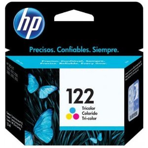 CARTUCHO 122 TRICOLOR 2ML - CH562 HP