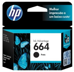 CARTUCHO 664 PRETO 2ML HP