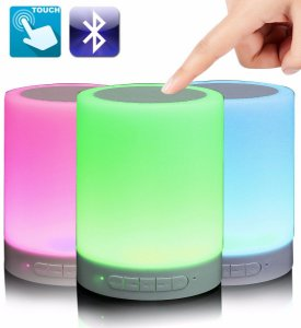 CAIXA SOM BLUETOOTH LUMINARIA