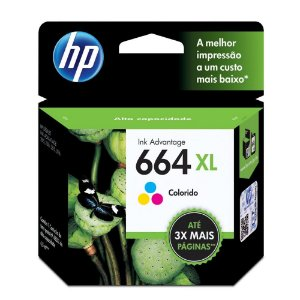 CARTUCHO 664XL COLOR HP