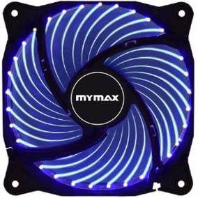 COOLER FAN P/ GABINETE 120MM LED MYMAX - AZUL