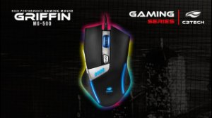 MOUSE USB GAMER MG-500BK GRIFFIN C3T