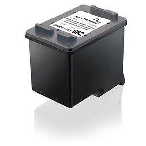 CARTUCHO COMPATIVEL 662XL BLACK MULTILASER