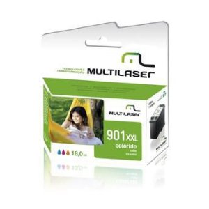 CARTUCHO COMPATIVEL 901XL COLOR MULTILASER