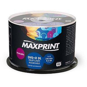 DVD-R 8GB DL MAX PRINT