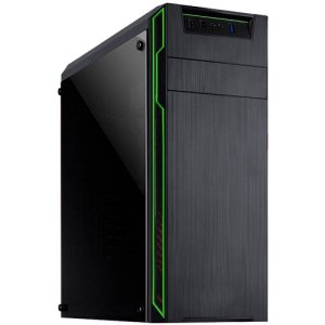 GABINETE GAMER DRAGON USB 3.0 LED VERDE MYMAX