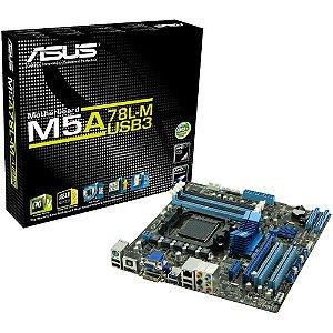 PLACA MAE AM3/AM3+ M5A78L-M DDR3 ASUS